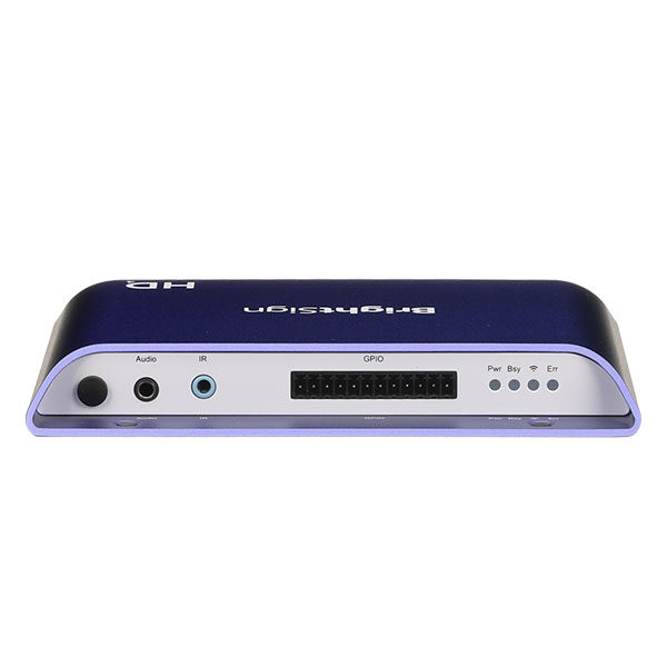 BrightSign Media Player HD244 Back