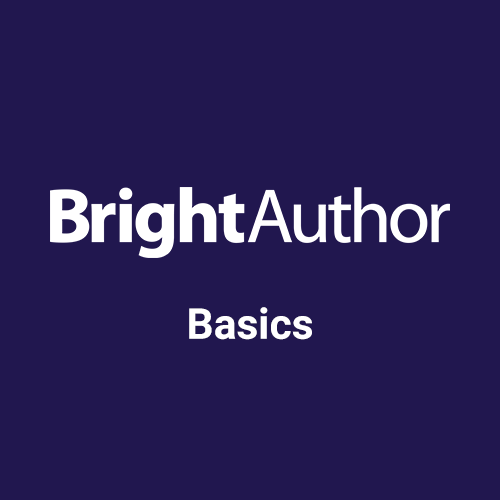 BrightAuthor Schulung