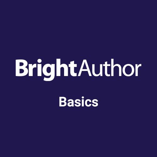 BrightAuthor Training