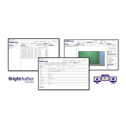 BrightAuthor connecté