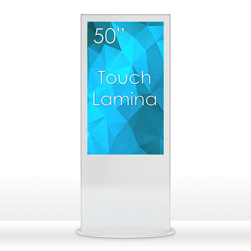 "SWEDX Touch Lamina 50"" White"