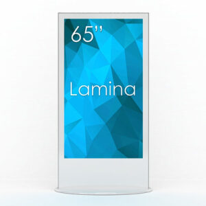 "SWEDX Lamina 65"" Weiss"