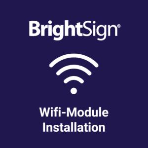 Installation BrightSign Wireless Modul