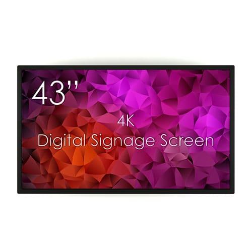 """SWEDX 43"""" Digital Signage Screen"""