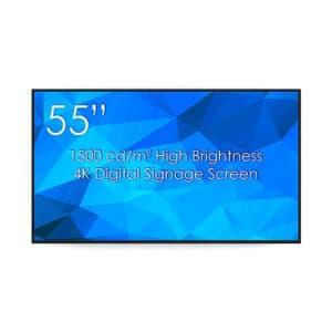 "SWEDX 55"" Digital Signage Screen High Brightness"
