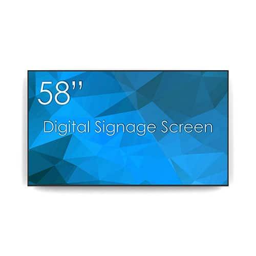 """Écran de signalisation numérique """"SWEDX 58"""