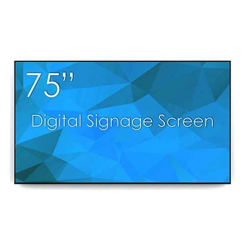 """SWEDX 75"""" Digital Signage Screen"""