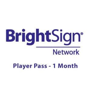 BrightSign Network Player Pass - 1 month