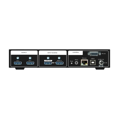 GeoBox G406S Video Wall Controller Back