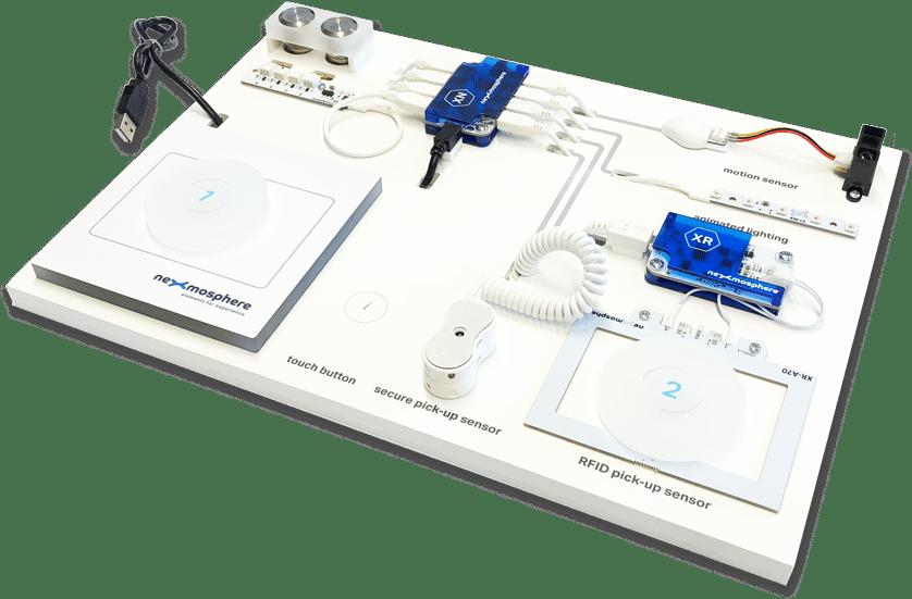 Nexmosphere sensors and actuators