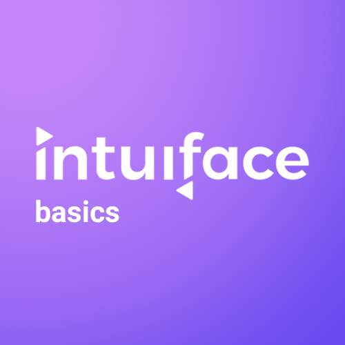 Intuiface Schulung Workshop Kurs