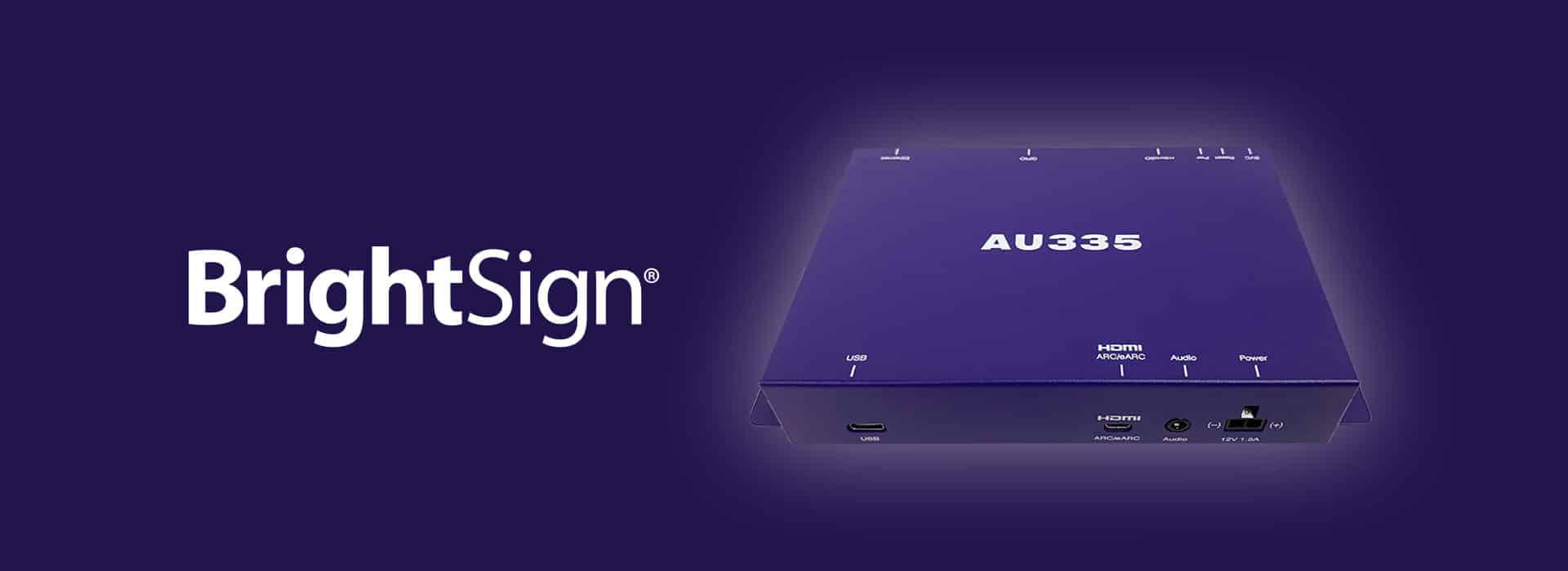 BrightSign AU335 Audio Player