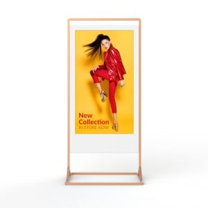 Superslim Freestanding Double-Sided Digital Posters - White Background Image (6)